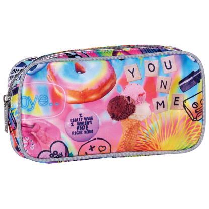 Picture of Psychedelic Collage Small Cosmetic Bag