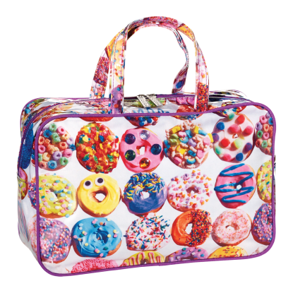 Picture of Assorted Donuts Large Cosmetic Bag