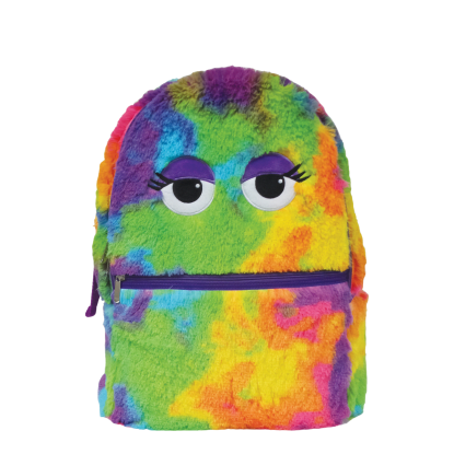 Picture of Tie Dye Furry Backpack