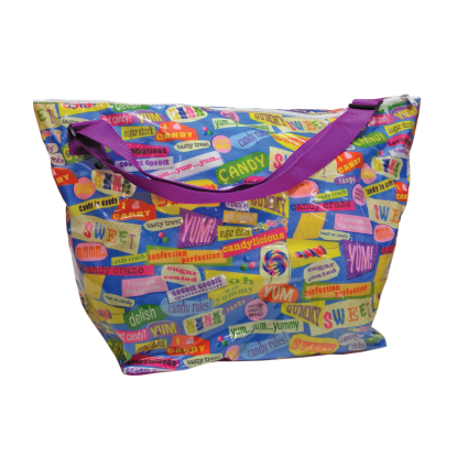 Picture of Candy Words Weekender Bag