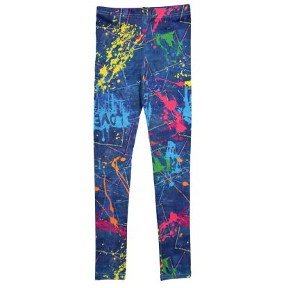 Picture of Paint Splatter Denim Leggings