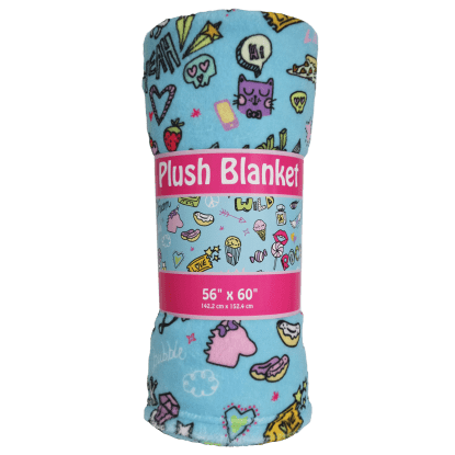 Picture of Doodles Plush Blanket