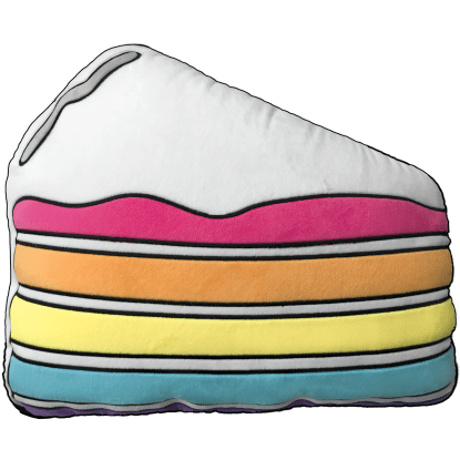 Picture of Slice of Cake Scented Embroidered Pillow