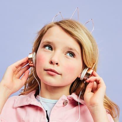 Picture of Unicorn-Shaped Headphones