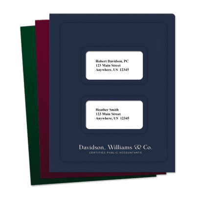 Picture of Large Windows Tax Software Folders