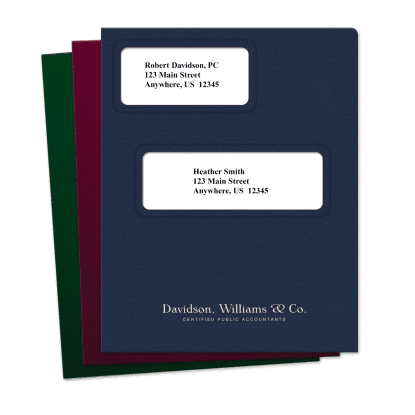 Picture of Offset Large Windows Tax Software Folders
