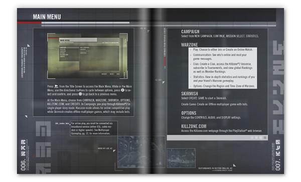 Killzone, Manual Art
