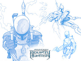 Bounty Hunter, Concept Art