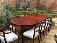 Large Georgian dining table