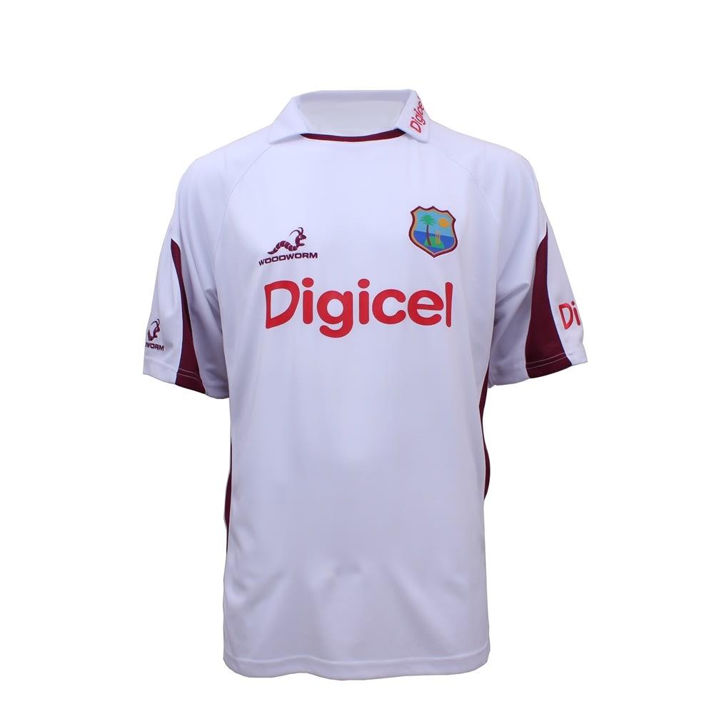 West Indies Replica Test Training Shirt