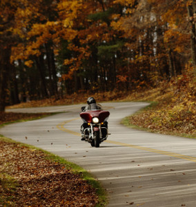 Fall Parkway Motorcycle - Motorcycle Touring