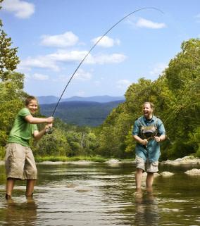 Roanoke River Fishing - Fishing