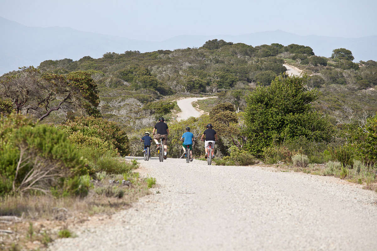 Biking at Fort Ord National Monument