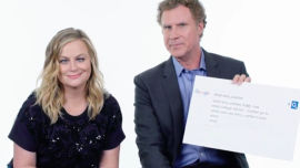 Amy Poeller and Will Ferrell turn on the laughs.