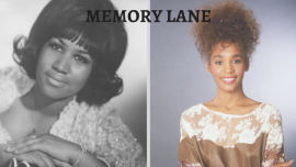 Aretha Franklin & Whitney Houston.