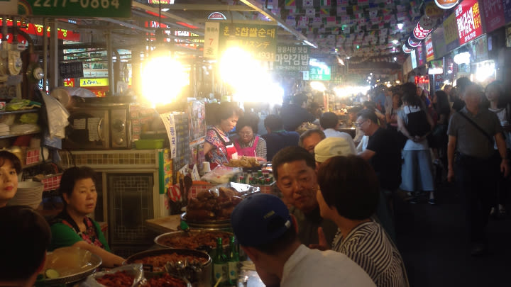Gwangjang Markets.