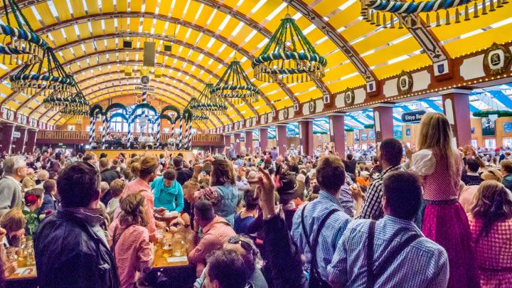 Oktoberfest, Munich.