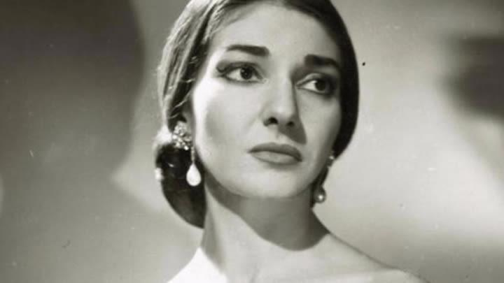 The greatest soprano of all, Maria Callas.