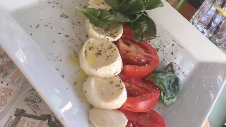 Italian mozzarella is out of this world.
