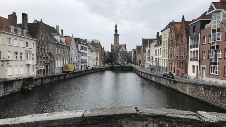 Brugge, Belgium (Image uploaded to Reddit by u/nedoma56).