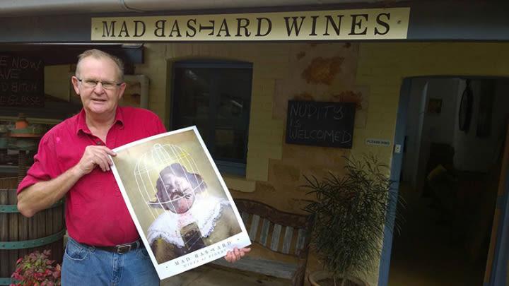 Mark Barry - Mad Bastard Wines.