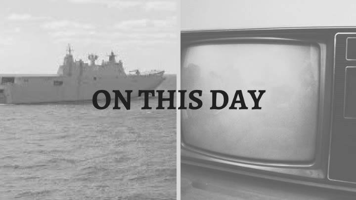 The Australian Navy and colour TV enjoyed their beginnings on this day.