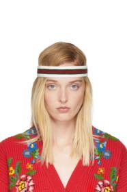 구찌 Gucci Tricolor Web Headband