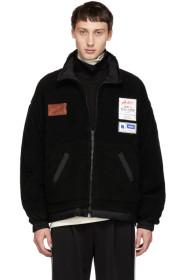Reversible Black Fleece Jacket