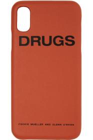라프시몬스 아이폰X 케이스 Orange Drugs