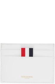 Thom Browne 톰 브라운 White Double-Sided Card Holder