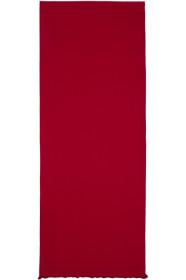 구찌 Gucci Red & Brown Ripon Simple Scarf