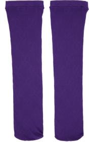 구찌 Gucci Purple GG Supreme Tights