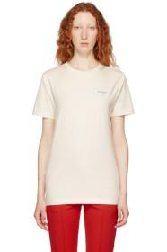 White Gradient Slim Fit T-Shirt