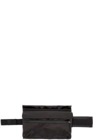 19 S/S 라프 시몬스 X 이스트팩 콜라보 남성용 포스터 벨트백 블랙앤옐로우 Raf Simons Black & Yellow Eastpak Edition Poster Waistbag