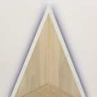 Gordon Hall, Set (V), 2014, acrylic and pigmented joint compound on wood, 18 3⁄4 × 20 × 1 1⁄4 in.