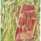 Gabriel Hartley, Carving, 2009, oil on canvas, 30 x 24 in.