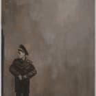 Olga Chernysheva, Untitled, 2011, oil on canvas, 27 × 15 in.