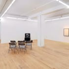 Lars Laumann, 2010, installation view, Foxy Production, New York