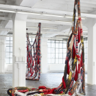 Sterling Ruby, Soft Work, 2012, installation view, Centre D'Art Contemporain Geneva. Photo: David Gagnebin