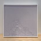 Hany Armanious, Sneeze Painting, 2010, perspex, polyurethane resin, air, 23 1/2 x 24 7/8 x 2 1/3 in. (60 x 63 x 6 cm.) HA_FP1567