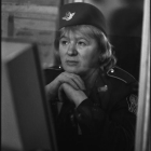Olga Chernysheva, On Duty, 2007, gelatin silver fiber based print, 53 1/2 x 35 1/2 in.(136 x 90 cm.,) edition of 5 with 2 AP, OC_FP928