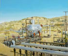 GAS SEPARATOR, MIDWAY-SUNSET OIL FIELD