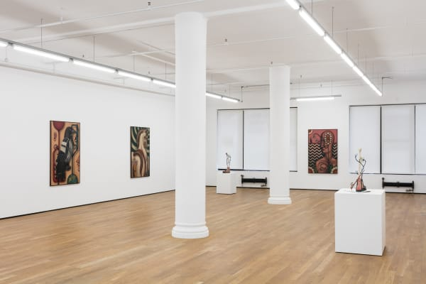 Justin Fitzpatrick, A Pulsation of the Artery, 2019, installation view, Foxy Production, New York.