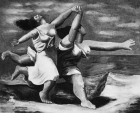 Untitled (After Picasso, Women Running on the Beach, 1922)