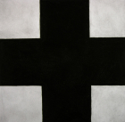 Untitled (After Malevich, Black Cross)
