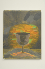 "Sam Windett ""Cup and Sun"" 2007 Oil on canvas."