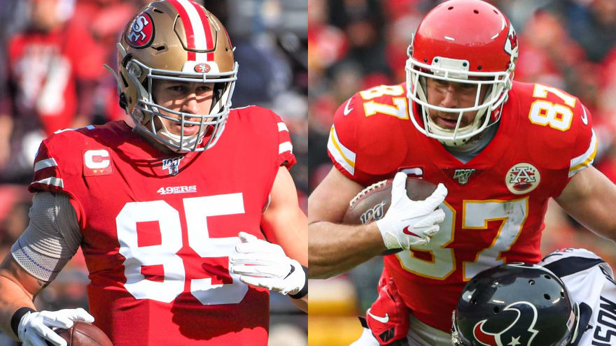 Vastly underpaid, tight ends Kittle, Kelce should cash in after Super Bowl