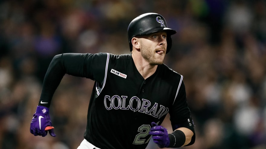 Trevor Story, Rockies reportedly agree to two-year, $27.5M deal