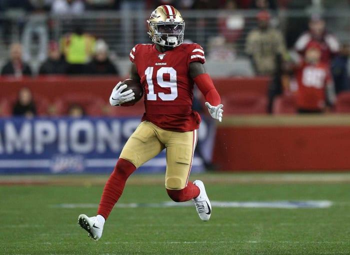 San Francisco 49ers: Wide receiver