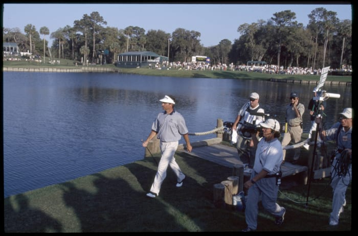 A hole in three for Fred Couples